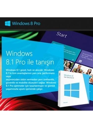 Microsoft Windows 8.1 Pro, Türkçe, 4Yr-00035, 32/64 Bit, Get Genuine Kit (Ggk) Renkli